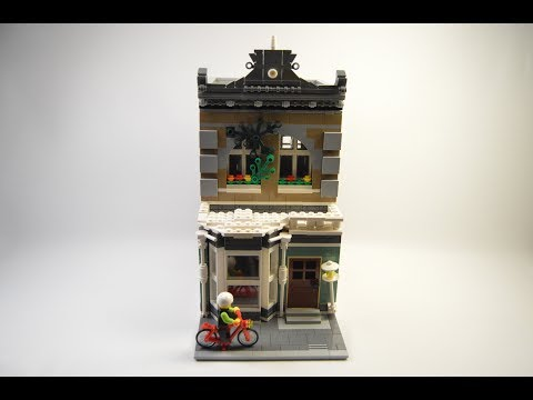 LEGO Modular-Compatible NY Apartment Karaoke Cafe  MOC