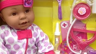 Toddler Toys - Baby Doll Doctor Play Set