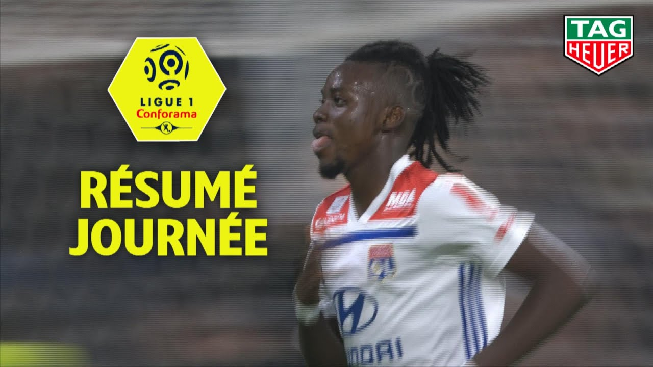 r u00e9sum u00e9 6 u00e8me journ u00e9e - ligue 1 conforama  2018-19