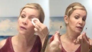 GOODBYE RETIN-A! 53 Year Old Woman's PM Skin Care Routine & Demo