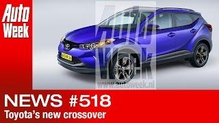 Journaal - Toyota komt met nieuwe Crossover