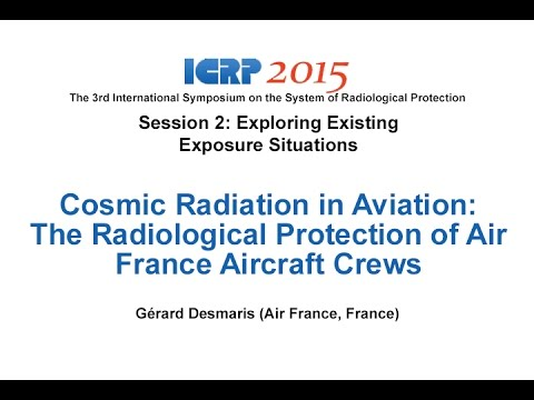 Cosmic Radiation in Aviation - October 20th, 2015