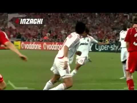 Fillipo Inzaghi's Top 10 Goals for Milan