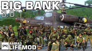 » BIG BANK 3.0 « Überfall auf die Zentralbank, Arma 3 Life Mod, [1/2]
