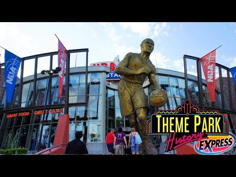 The Theme Park History Express Of NBA City Feat. Johnny Awesome (Universal CityWalk Orlando)