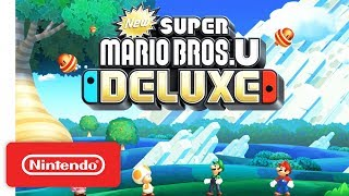 vuclip New Super Mario Bros. U Deluxe - Announcement Trailer - Nintendo Switch