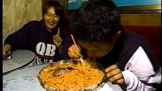たまたま見つけたメーキャップファイターAJA早藤の番組の大食いコーナー...