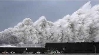 Stärkster Taifun seit 25 Jahren wütet über Japan