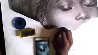 how to draw skin pores fast by cofrancis
