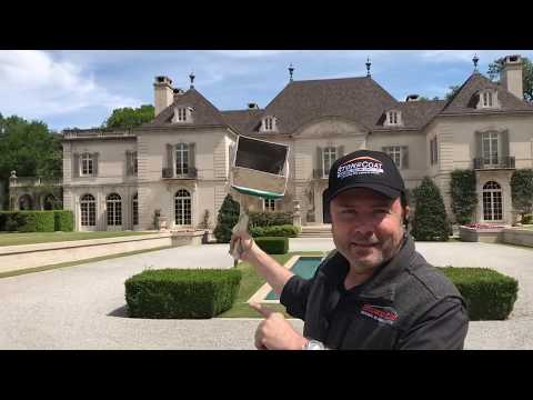 blowing-stone-at-the-world-famous-crespi-mansion-part-1---stonecoat®