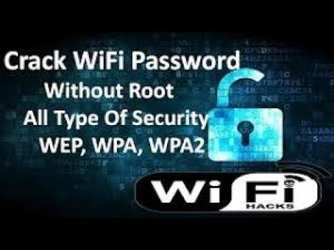 Hack Wifi Password On Your Android Device 2017 No-Root