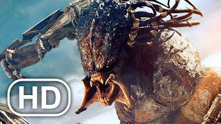 Predalien Vs Predator Fight Scene FULL BATTLE 4K ULTRA HD - Aliens Vs Predator