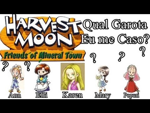 Harvest moon friends of mineral town pt-br download youtube
