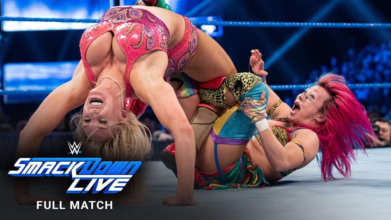 Download FULL MATCH - Asuka vs. Charlotte Flair – Women's Title Match: SmackDown LIVE, March 26, 2019