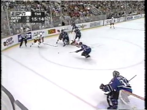 1998 Stanley Cup Finals Game 2 Washington at Detroit