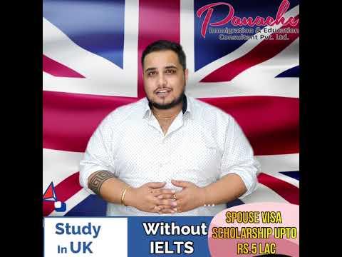 Study In UK Without IELTS   Spouse Visa   Scholarship   Panache Immigration   85560-85550