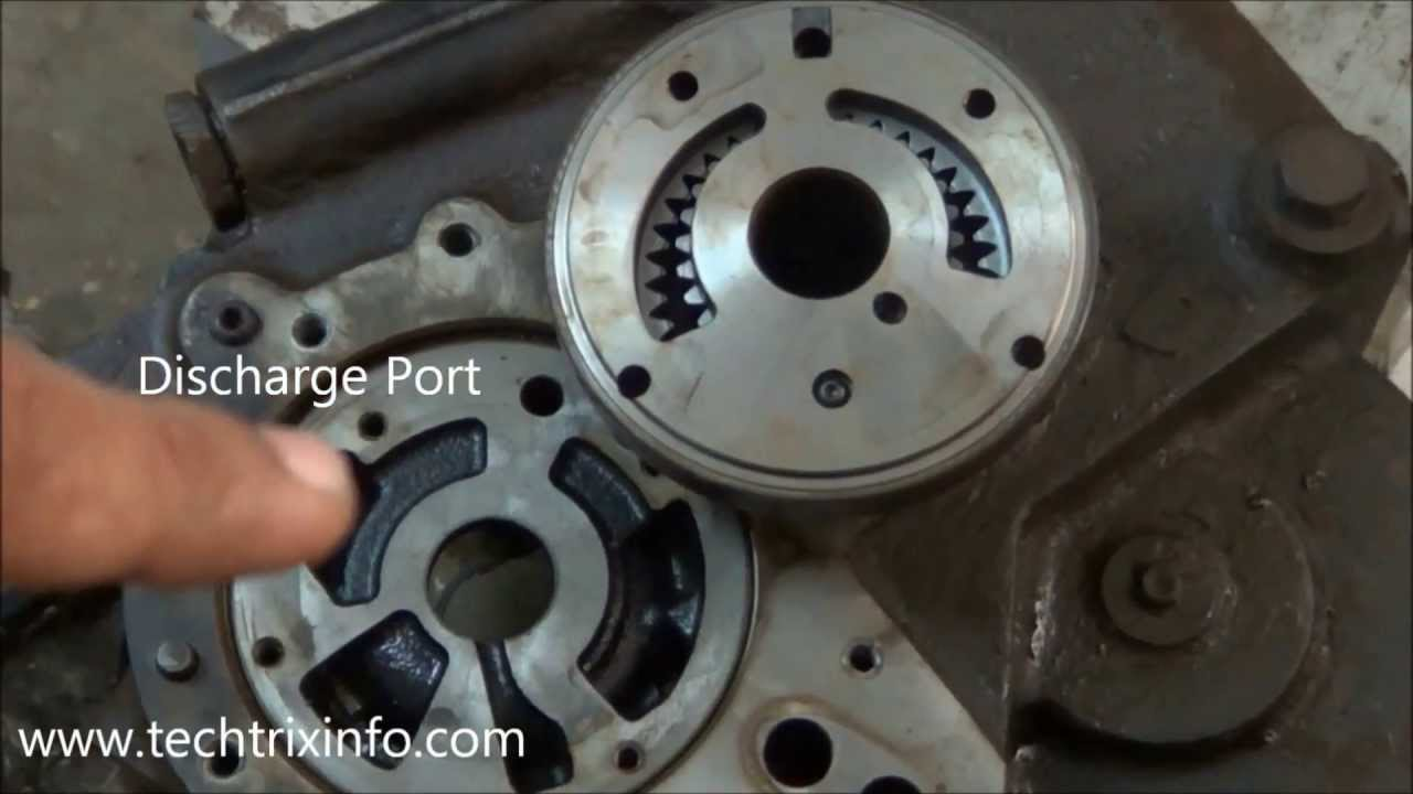 How charging pump is fixed on hydraulic gearbox  ✔