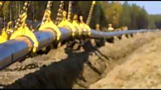 укладка газопровода в траншею.mp4(труба 1420мм., 2013-02-19T09:35:47.000Z)