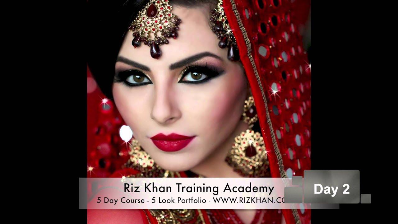 riz khan training academy - bridal & media hair & makeup courses