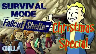 Fallout Shelter Survival Mode Christmas Special!! Rescuing Santa!! PC IOS Android walkthrough Tips T