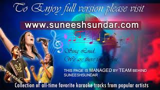 Snehathin poo nulli karaoke with synced lyrics add
