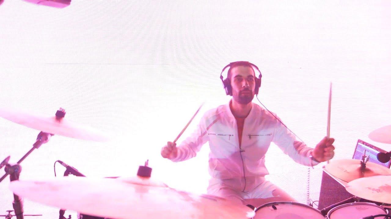 Joe Taranto Epic Drum Highlights Live at Fed Square!