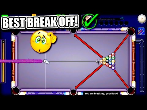 Thumbnail: 8 Ball Pool - BEST BREAK OFF EVER!! - How to Break in 8 Ball Pool - Road to 1B Coins Tips/Tricks