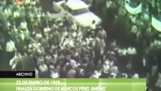 Hace 57 años cayó Marcos Pérez Jiménez