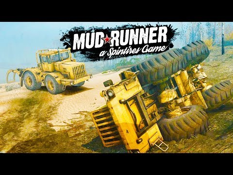 FLIPPING the GOLDEN TRUCK!  Spintires: MudRunner Gameplay