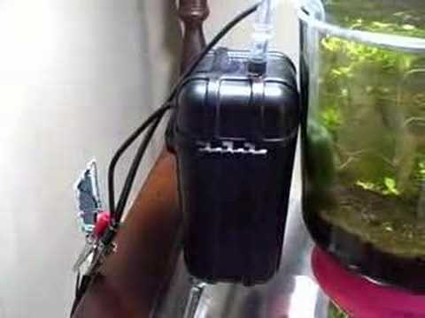 Nano tank Canister filter