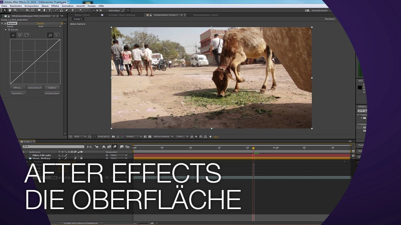Adobe After Effects: Filmbearbeitungskurs – Bürgerhaus Bennohaus
