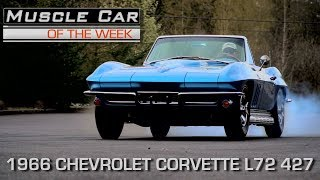 Nassau Blue 1966 Corvette L72 427 / 425 HP Muscle Car Of The Week Video Episode 213