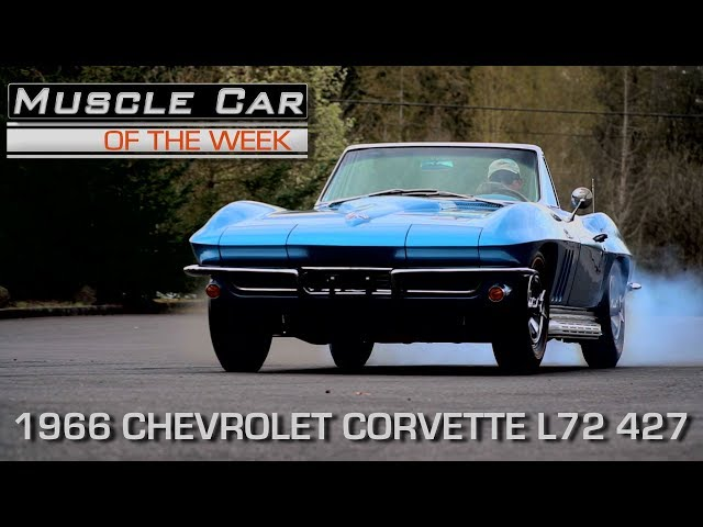 Nassau Blue 1966 Corvette L72 427 / 425 HP Muscle Car Of The Week Video Episode 213