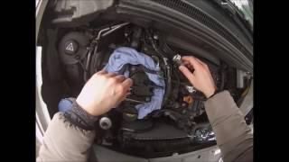 Remplacer le filtre à gasoil sur une Citroen DS5