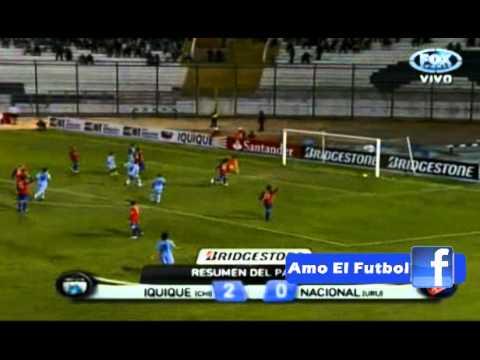 Deportes Iquique 2-0 Nacional de Montevideo Copa Bridgestone Sudamericana