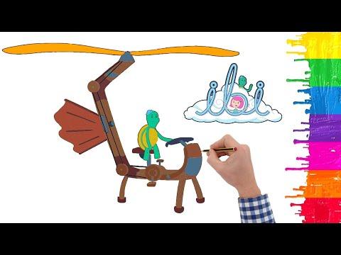 How to draw Big City Greens - Greens Characters - Remy nasıl çizilir - Remington