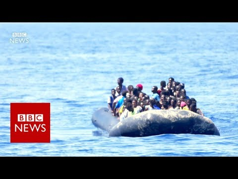 BBC is on board a rescue Ship in the Mediterranean Sea - BBC News
