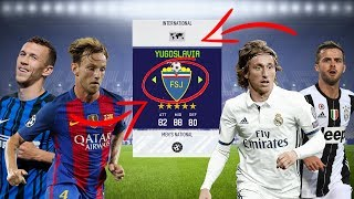 WHAT IF YUGOSLAVIA HAD IT'S OWN TEAM? - FIFA 18 EXPERIMENT