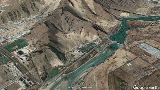 Chinese Roads near the Tibet-Arunachal border - a Google Earth study