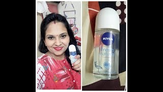 Dark underarms,smell from body😢||130rs👍 get this Nievea roll on deo||feel fresh in this rainy seas