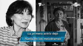 Mónica Miguel colaboró en varios proyectos con la productora Carla Estrada