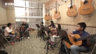 Kelas Gitar Klasik Yamaha Music School @ Pacific Place