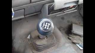 93 6.5 full mechanical GM turbo diesel and NV4500 5 speed trans full throttle test drive!