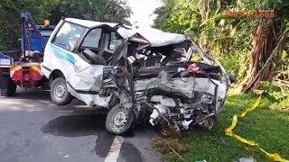 Nine killed, 1 hurt in gruesome van-lorry collision in Tapah