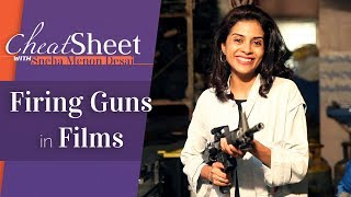 How To Fire A Gun In Films | Explosion Expert | Cheat Sheet | Film Companion