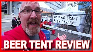 BEER TENT Review at Sesquifest in London, Ontario