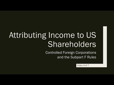 US Tax Reform and the Non-resident Business Owner - Video 4 of 7