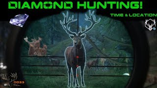 What is the Best Time and Location for Big RED DEER?!! Call of the Wild 2018