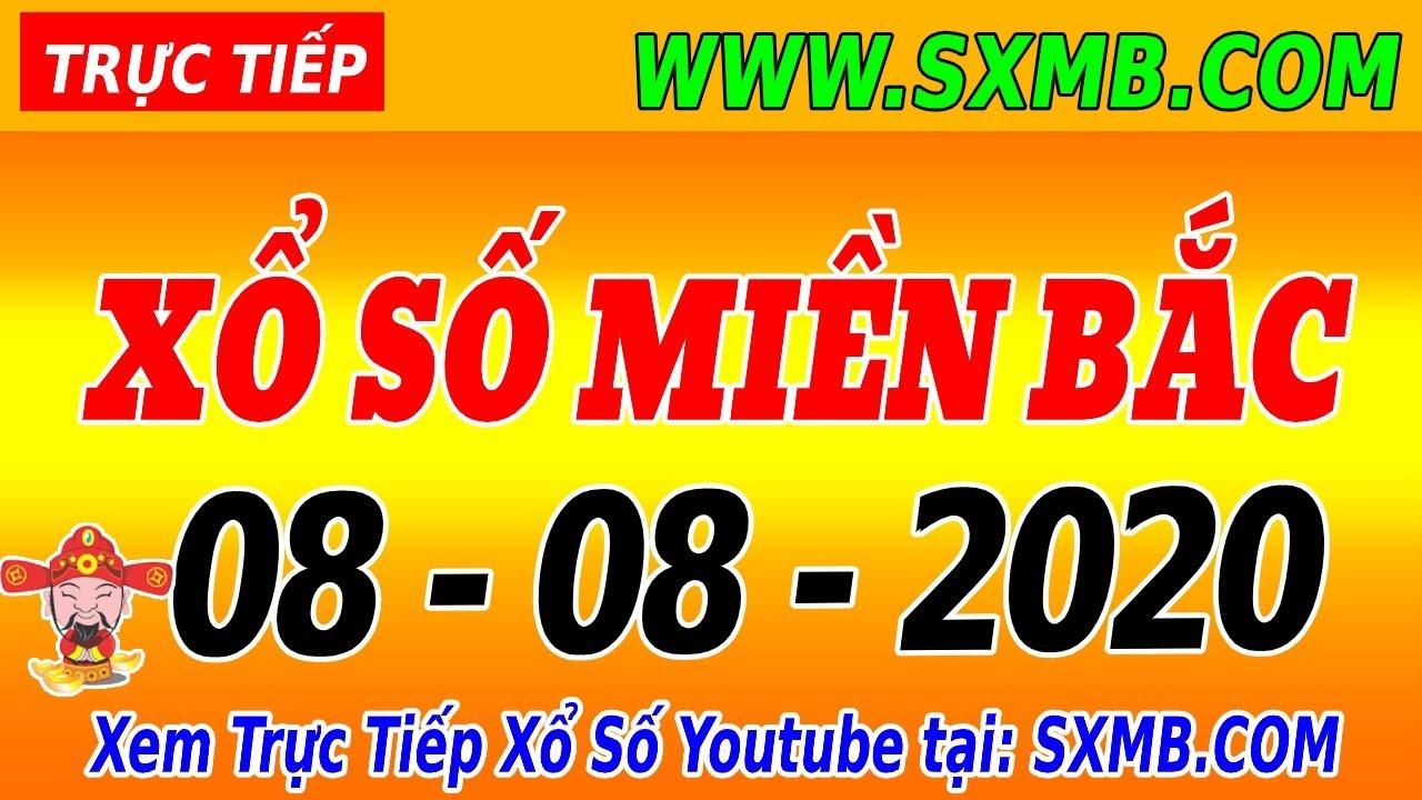 XSMB - Trực tiếp xổ số Miền Bắc 07/08/2020 | KQXSMB 7/8  | Xổ Số Miền Bắc 30 Ngày  - XSKT