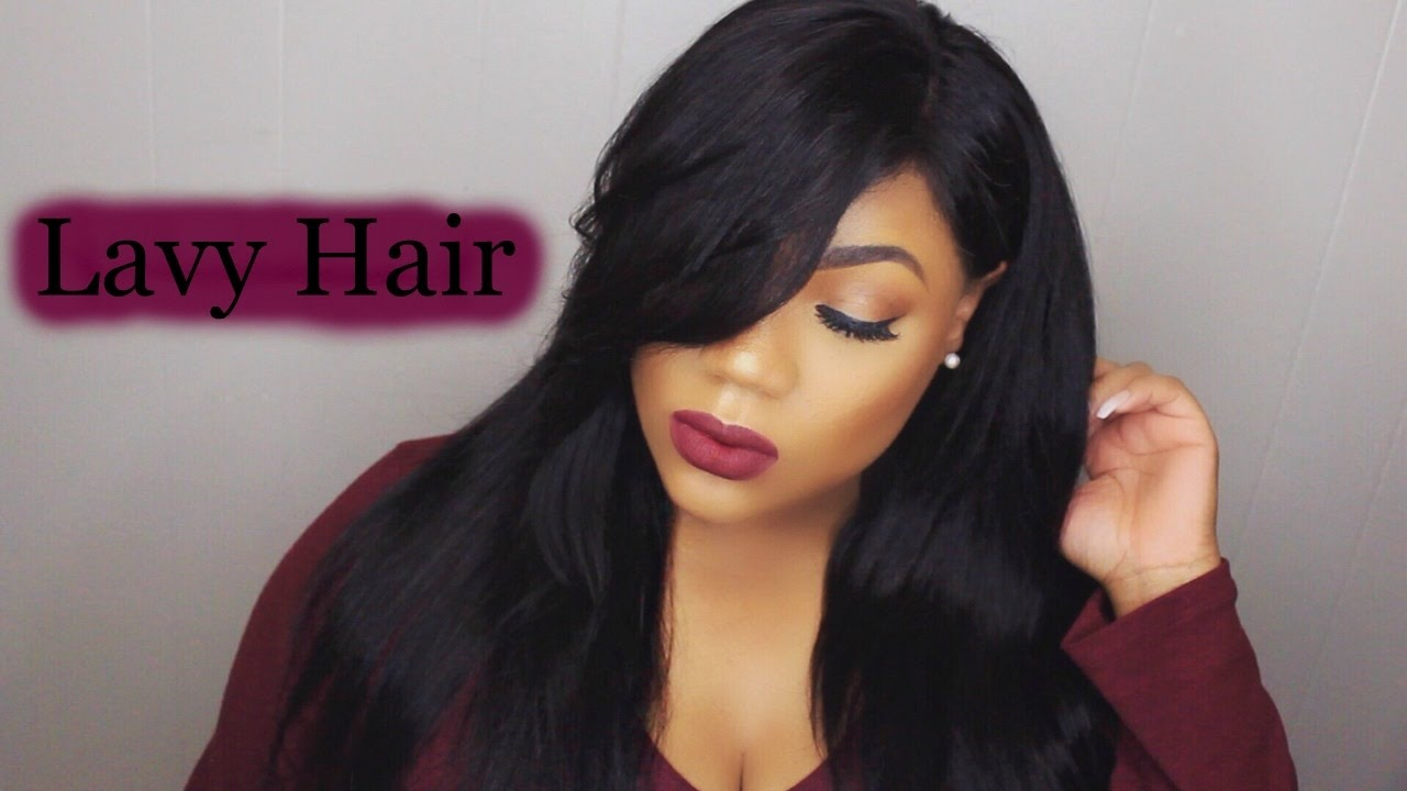 how to style hair without bangs how to cut amp style side swept bangs ft lavy hair lace 1542